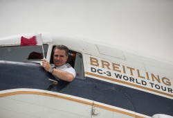 Legendary Breitling DC-3 touches down in Qatar as part of record-breaking world tour