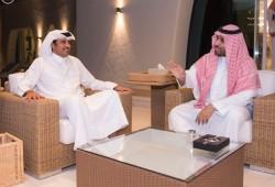الأمير وولي ولي العهد السعودي يستعرضان تطورات المنطقة