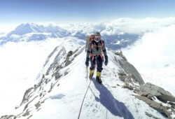 The first Qatari to climb the heights peak on the 7 continents