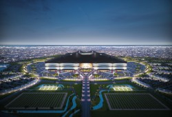 Qatar World Cup stadiums 3D-printed to test weather conditions