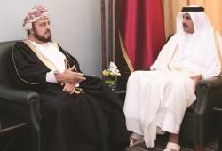 Emir meets Omani Deputy PM