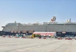 قطر تستقبل أول باخرة عملاقة لموسم السياحة البحرية