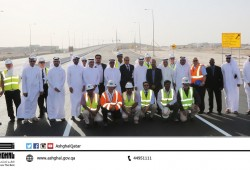 Ashghal opens a new Bridge to connect roads easily