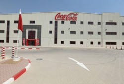Coca-Cola officially opened its first factory in Qatar