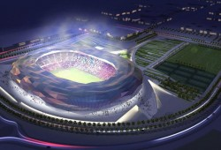 The main contract for Qatar Foundation World Cup stadium